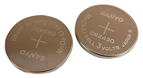 Sanyo Lot-283 Lithium 3v Coin Cell Battery New CR2430-L283 804-021107-001A by Sanyo