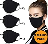 BBrand 3 Pack Black Face Mask