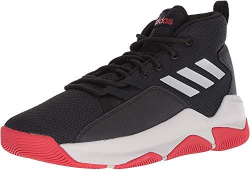 adidas Men's Streetfire Basketball Shoe, Black/Grey/Scarlet, 12 M US (New Adidas Basketball Shoes)