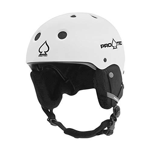 Pro-Tec Classic Certified Snow Helmet (Matte White, Medium)