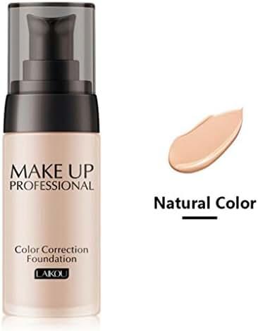 Exteren Liquid Foundation Face Color Waterproof Concealer Coverage Concealer Makeup Makeup Base (B)