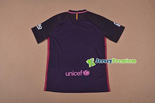 Amazon.com: Camiseta de fútbol 2016 Barcelona Away para ...