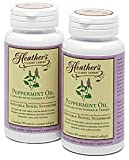 Heather's Tummy Tamers - Peppermint Oil Capsules with Ginger and Fennel for Irritable Bowel Syndrome ~ 90 softgels by Heather's