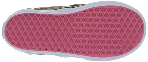 Vans Atwood Kinder Natural Hohe V Guépard canvas Unisex Multicolore Pink Sneakers Mehrfarbig T B5rqwB
