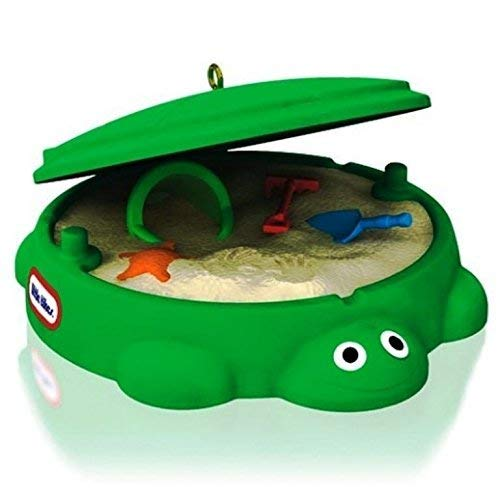 Hallmark 2014 Classic Turtle Sandbox Little Tikes (Tree Ornament)