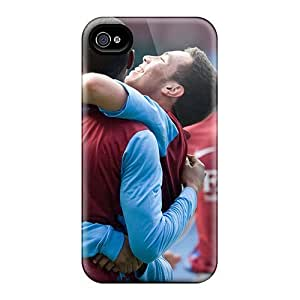 Premium LqcGjnp7002yDwMG Case With Scratch-resistant/ The Famous Club Aston Villa Case Cover For Iphone 4/4s