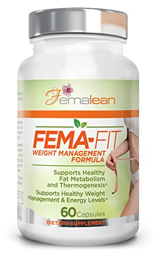 *Flash Sale* FEMA-Fit 500 mg 60 Caps Exp 09-2019 - Natural | Thermogenic | Weight Loss | Fat Burner | for Women | Belly Fat Shred | Metabolism Booster | Appetite Suppressant for Her