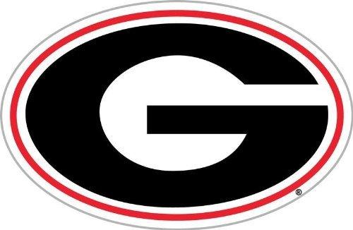 NCAA Georgia Bulldogs G Logo 12 inch Vinyl Magnet (Logo Car Magnet 12)