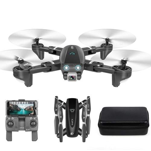 Amazon.com: RONSHIN CSJ S167 GPS 2.4G WiFi FPV Drone with 4K ...