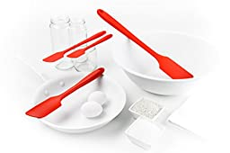 GIR: Get It Right Premium Silicone Skinny Spatula, 11 Inches,  Red
