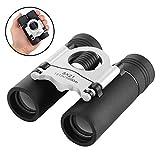 Compact Binoculars, 8x21 Small and Lightweight Mini Pocket Folding Binoculars with Fully Coated