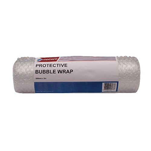 Image of GoSecure PB02288 300 mm x 3 m Small Bubble Wrap Roll - Clear Bubble Wrap