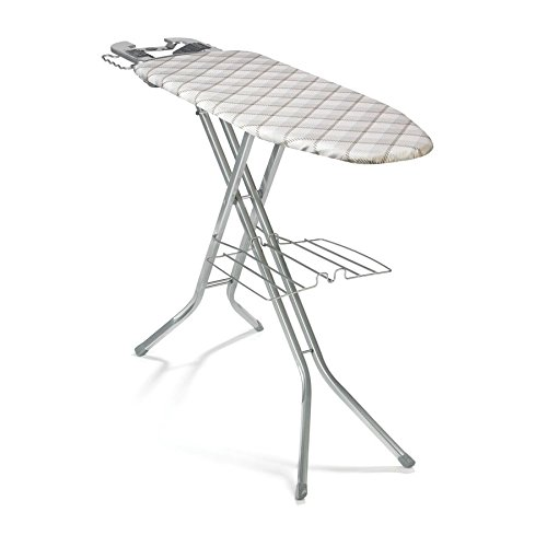 Polder IB-1558BBB Deluxe Ironing Board, 48'' x 15'', Includes Cover and Pad