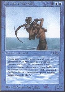 Magic: the Gathering - Old Man of the Sea - Arabian Nights by Magic: the Gathering
