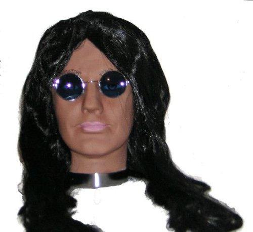 Ozzy Osbourne Costume - Ozzy Osbourne Fancy Dress Costume, Wig & Glasses