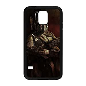 C-EUR Customized Print Star Wars Soldier Hard Skin Case Compatible For Samsung Galaxy S5 I9600