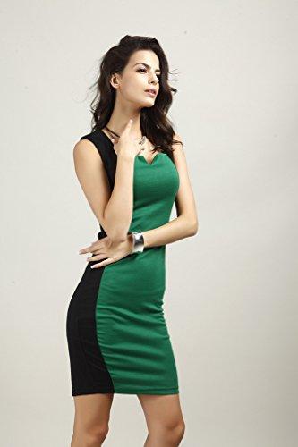 GWELL Elegant Modern Sexy Damen Bodycon Etuikleid Business ...