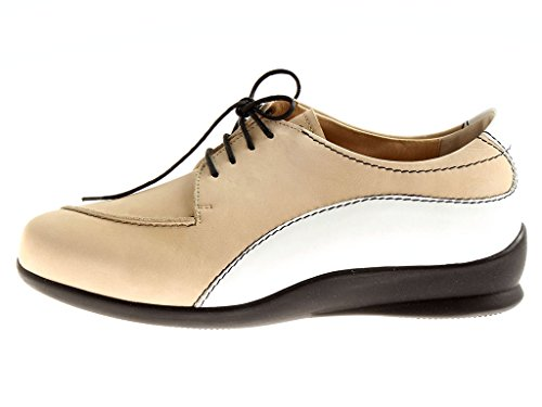 Berkemann Lacets Cuir Pour Femmes 05110 À En Chaussures Basses Elena Sable HRxgfwqBHr