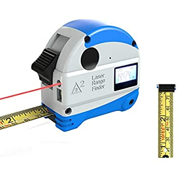 eTape16 ET16.75-DB-RP Digital Tape Measure, 16, Red, Inch and ...