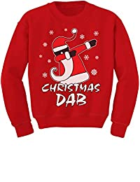 TeeStars - Dabbing Santa Christmas Dab Funny Ugly Xmas Toddler/Kids Sweatshirt
