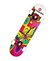 Punisher Skateboards Butterfly Jive Complete 31-Inch Skateboard with Canadian Maple from PUNISHER