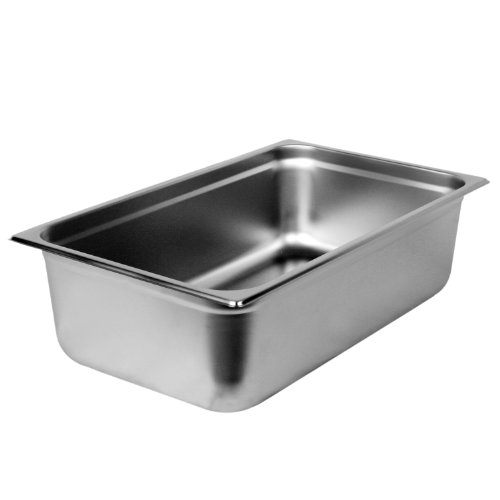 Excellante Full Size 6-Inch Deep 22 Gauge Anti Jam Pans