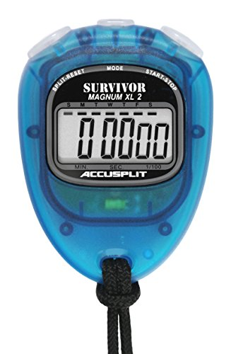 ACCUSPLIT New Survivor 2 - Aqua New Survivor SX 2 Series Stopwatch by ACCUSPLIT