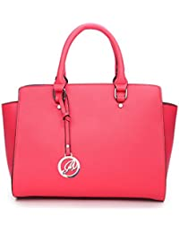 K664018L MyLux Women Fashion Designer Purse handbag (664018CORAL1)