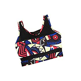 - 41DrYBayvXL - PiePieBuy Womens Plus Size African Print Inspired Two Piece Bikini Bathing Suit from S-4XL