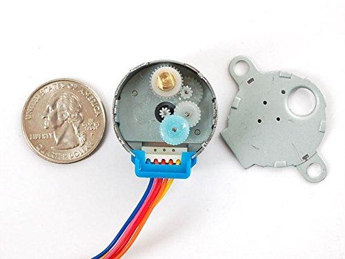 5VDC 32-Step 1//16 Gearing Adafruit Small Reduction Stepper Motor ADA858