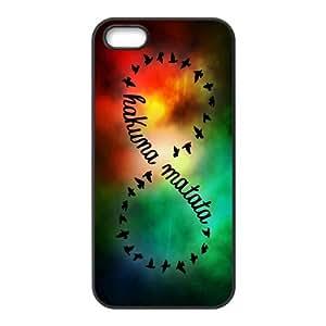 LeonardCustom- The Lion King Hakuna Matata Protective Hard Rubber Silicon Case Cover iPhone 5 5S -LCI5U284