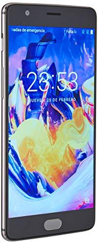 OnePlus 3T 6GB- RAM 64GB-ROM A3000 5.5in Factory Unlocked Phone - 64 GB US Version- Gunmetal (Renewed)