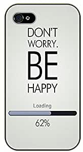 For Iphone 6Plus 5.5Inch Case Cover Don't worry be happy. Loading 62% - black plastic case / Inspirational and motivational