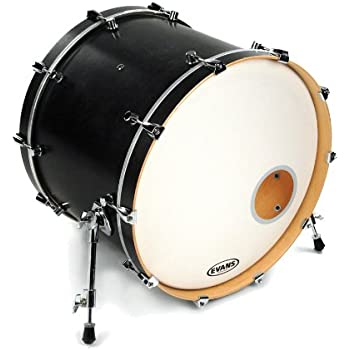 Evans Eq3 Bass Drum Head Review : evans eq3 resonant black bass drum head 22 inch musical instruments ~ Vivirlamusica.com Haus und Dekorationen