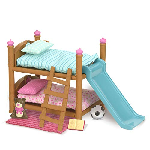 Li L Woodzeez Bunk Beds Playset Miniature Bedroom Furniture And Accessories 18pc Toy Set With Bed Toys Book And More Gifts For Kids Age 3 Pricepulse