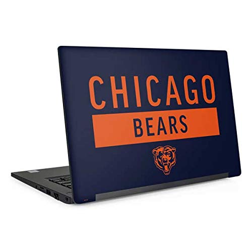 Skinit Chicago Bears Blue Performance Series Latitude 7490 Skin - Officially Licensed NFL Laptop Decal - Ultra Thin, Lightweight Vinyl Decal Protection