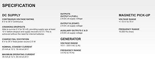 DSE3110 - DEEP SEA CONTROL MODULE - AUTO START MPU - DSE 3110 - ORIGINAL - 1 Year Warranty! by DEEP SEA ELECTRONICS - DSE (Image #4)