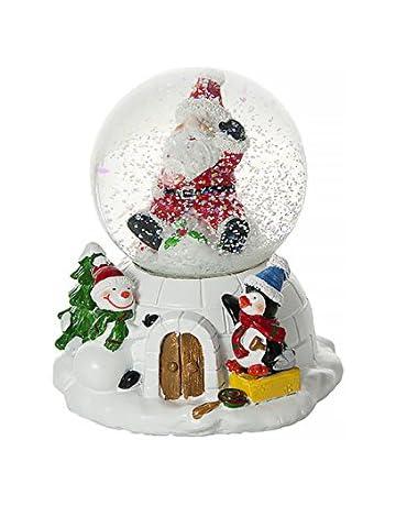 Christmas Snowglobes.Amazon Co Uk Christmas Snow Globes