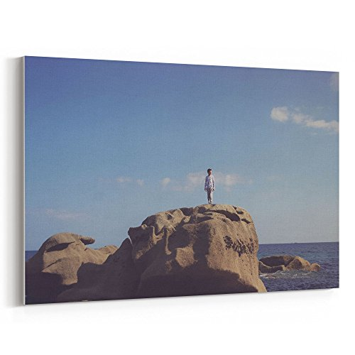 ait Wallpaper - 12x18 Canvas Print Wall Art - Canvas Stretched Gallery Wrap Modern Picture Photography Artwork - Ready to Hang 12x18 Inch (EBC3-E37FD) ()