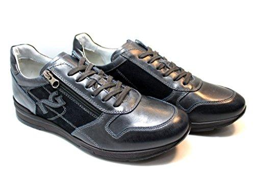Nero Giardini , Herren Sneaker Blau