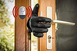 Door Window Alarm 2 Pack 120db Home Security Wireless Magnetic Sensor Burglar Anti Theft Alarm System With Batteries Included Diy Easy To Install