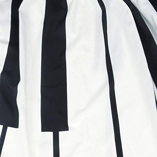 85% OFF XFentech Mujeres transpirable falda de rayas blancas y negras falda  larga cintura alta 3116e638ef7b