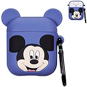 Amazon.com: Punswan Funny Mickey Mouse Airpod Funda para ...