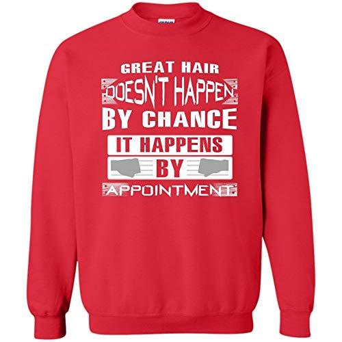 Now Watch Me Spray Spray T Shirt, Coolest Hairstylist Sweatshirt (S,Red) ()