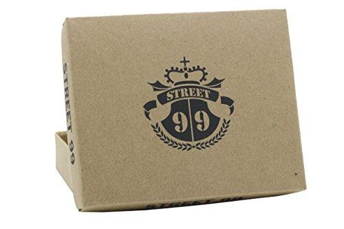 Street Bufalo 99 Tan Di Portafoglio Pelle Vintage In Vera East Uomo Da West rRrx8wqa
