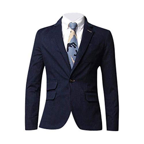 Suit il da Hellbraun Vintage lunga per libero Business Giacca uomo casual Cappotto Giacche Blazer tempo Matrimonio manica SF01Pq