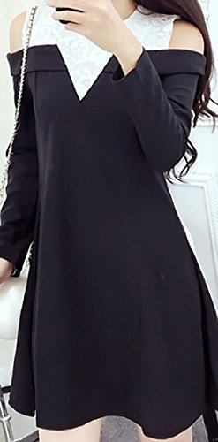 erdbeerloft - Vestido - para mujer negro