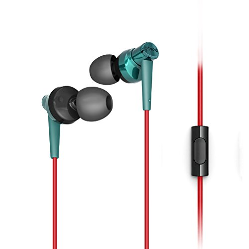 Granvela Pod007 Hi Definition Earbuds With Microphone  Noise Isolating And Bass Enhanced Earphones With Microphone For Smartphones   Green
