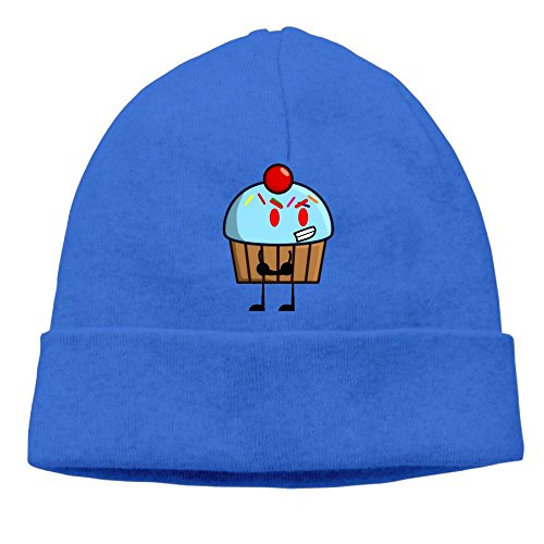 Stewie Costume For Babies (Angry Cupcake Unisex Cool Hedging Hat Wool Beanies Cap RoyalBlue By Carter Hill)