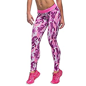 COCOLEGGINGS Womens Skinny Stretchy Yoga Pants Active Workout Leggings Tights